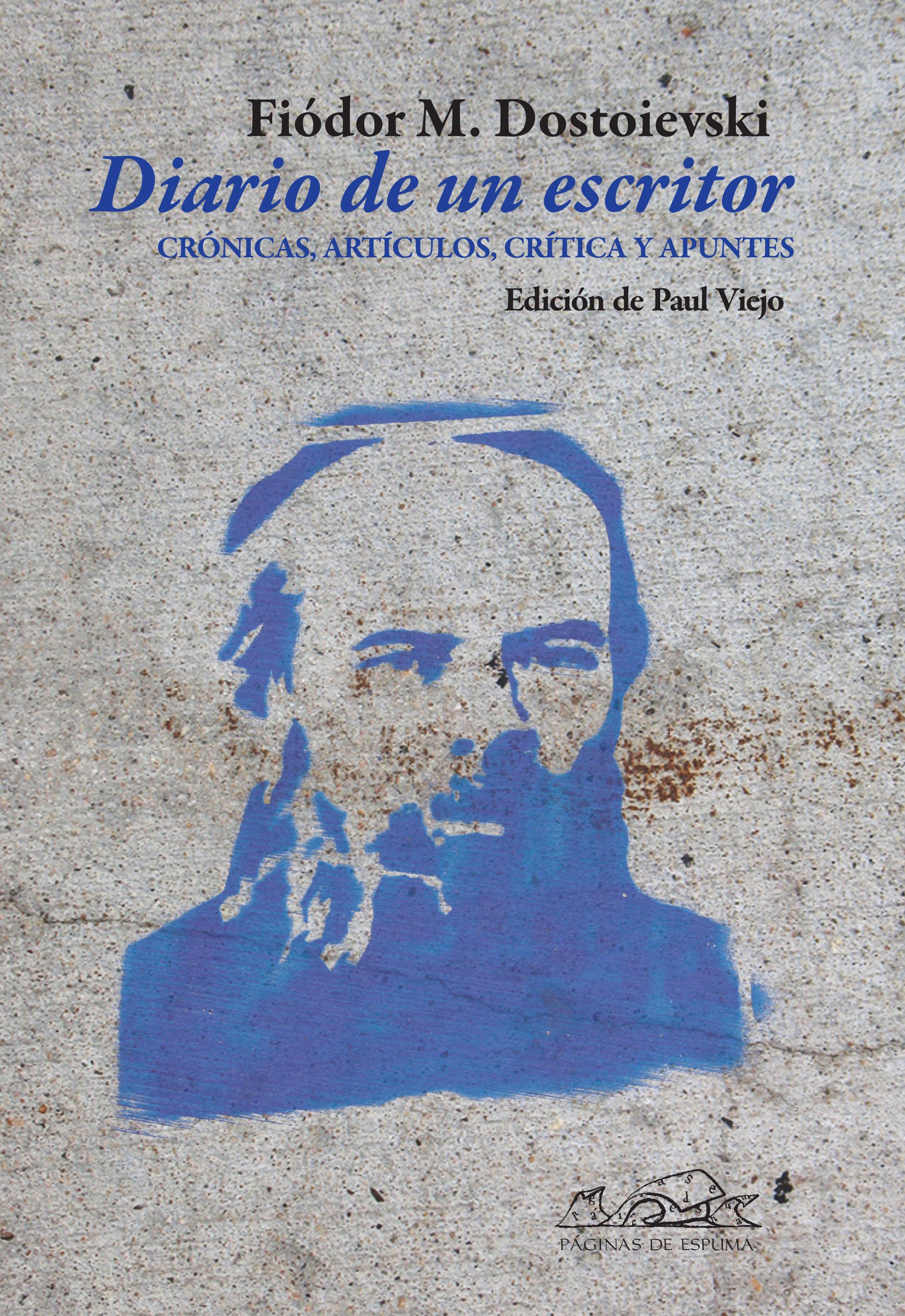 Diario de un escritor - Editorial Páginas de Espuma